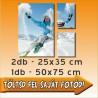 """Vászonkép - """"Trio Standard"""" - 2db - 25x35cm , 1db - 50x75cm"""
