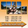 """Vászonkép - """"Modern"""" - 2db - 30x45cm , 3db - 25x28cm, 1db - 85x50cm"""