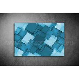 Kék Absztrakt Vászonkép 009