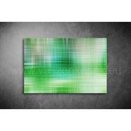 Zöld Absztrakt Vászonkép 014