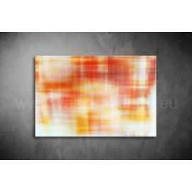 Sárga-Piros Absztrakt Vászonkép 018