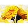 Sárga Virág Vászonkép 027