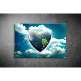 Ég és Föld Vászonkép 056