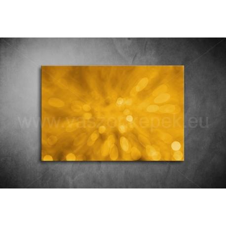 Aranysárga Absztrakt Vászonkép 096