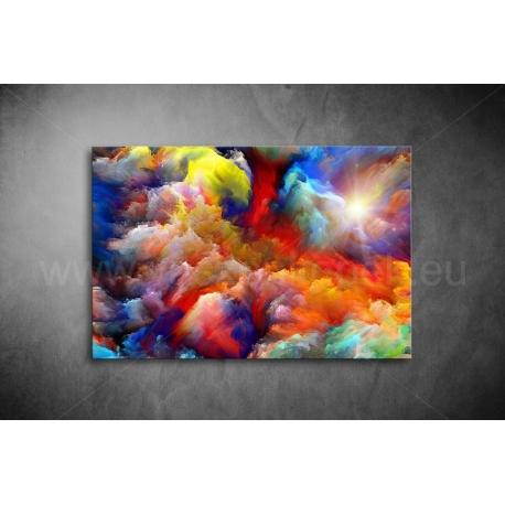 Absztrakt Felhők Vászonkép 112