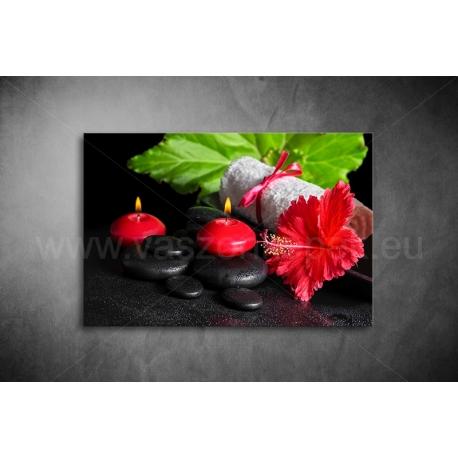 Kínai Rózsa Vászonkép 054
