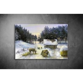 Télen Vászonkép 011