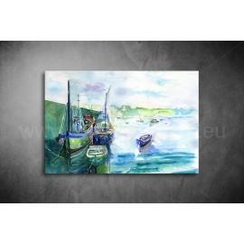 Festmény Vászonkép - (2cm-es kerettel)