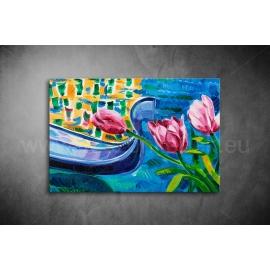 Tulipános Vászonkép 033