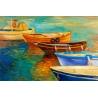 Csónakok Vászonkép 036