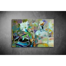 Virág,Üveg Vászonkép 049