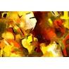 Sárga-Piros Vászonkép 052