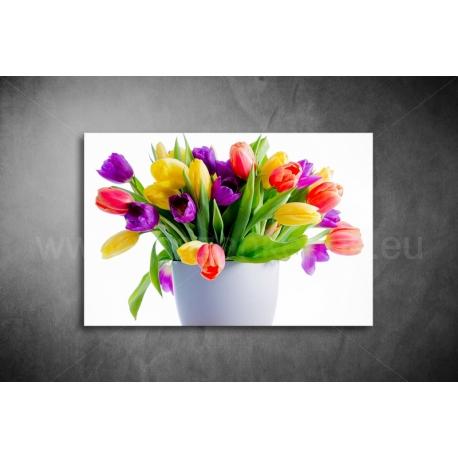 Tulipános Vászonkép 016