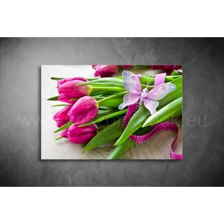 Tulipános Vászonkép 045