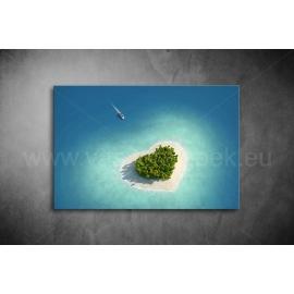 Óceán Szíve Vászonkép 040