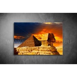 Piramisok Vászonkép 065