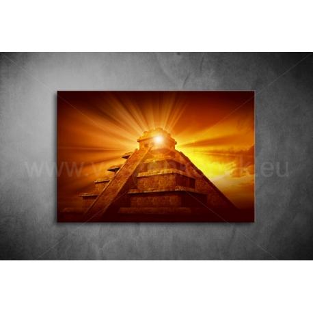 Piramisok Vászonkép 066