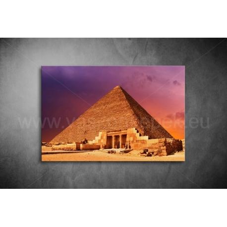 Piramisok Vászonkép 067