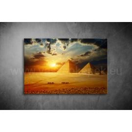 Piramisok Vászonkép 068