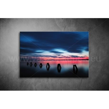 Sötét Felhők Vászonkép 082