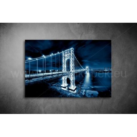 Manhattan Bridge Vászonkép 016