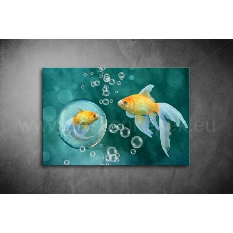 Aranyhal Vászonkép 096