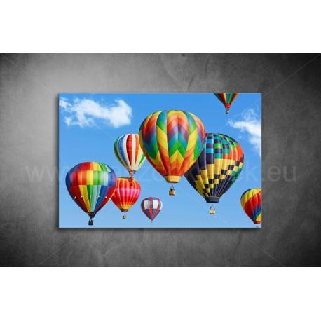 Hőlégballon Vászonkép 011