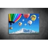 Hőlégballonok Vászonkép 026