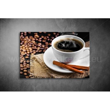 Fekete Kávé Vászonkép 064