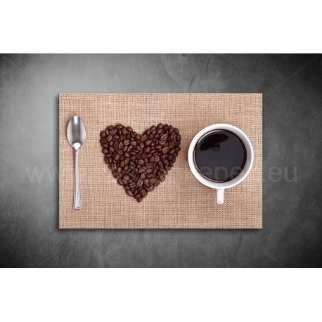 Love Coffee Vászonkép 066
