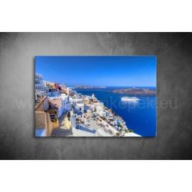 Santorini Vászonkép 019
