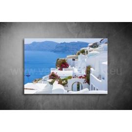 Santorini Vászonkép 020