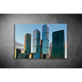 Toronyházak Vászonkép 051