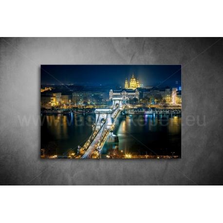 Budapest, Lánchíd Vászonkép 086