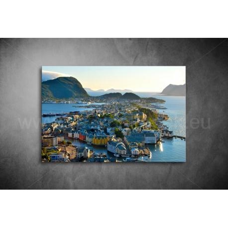 Alesund, Norvégia Vászonkép 088