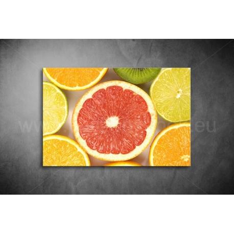Grapefruit Vászonkép 002