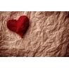 Piros Szív Vászonkép 002
