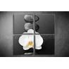 Többrészes Orchideai vászonkép 002 - (választható formák)