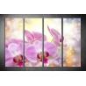 Többrészes Orchidea vászonkép 019 - (választható formák)