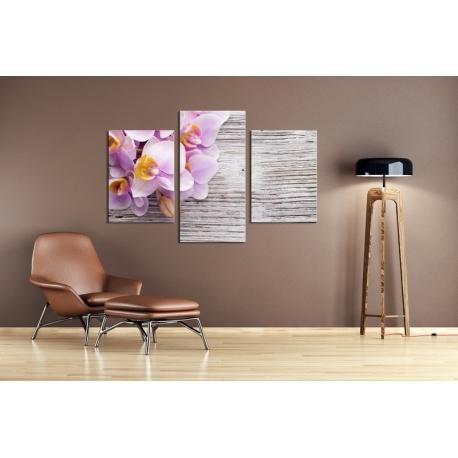 Többrészes Orchidea vászonkép 029 - (választható formák)
