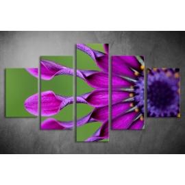Többrészes Virág vászonkép 034 - (választható formák)