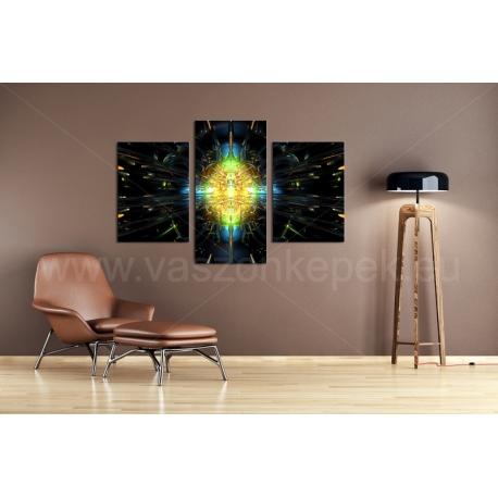 Többrészes Kaleidoszkóp vászonkép 065 - (választható formák)
