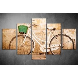 Többrészes Bicikli vászonkép 018 - (választható formák)