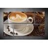Többrészes Barista Kávé vászonkép 063 - (választható formák)