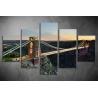 Többrészes Híd vászonkép 005 - (választható formák)