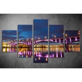Többrészes Híd vászonkép 014 - (választható formák)