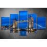 Többrészes Tower Bridge vászonkép 017 - (választható formák)