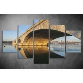 Többrészes Híd vászonkép 001 - (választható formák)