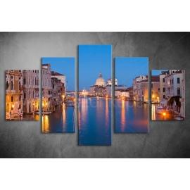 Többrészes Velence vászonkép 014 - (választható formák)