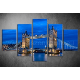 Többrészes London vászonkép 031 - (választható formák)